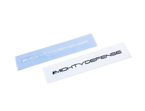 MIGHTY DEEFENSE CUTTING STICKER【S】