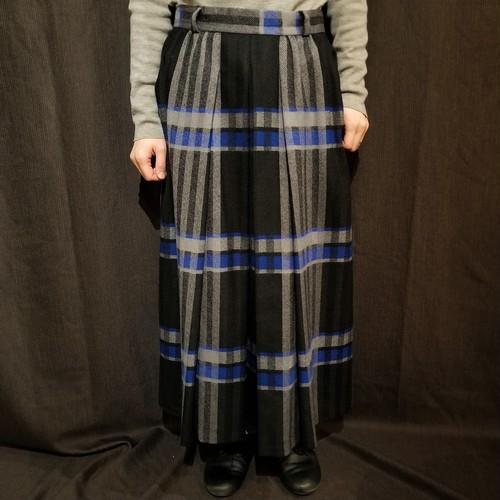Herringbone big check Skirt [G-918]