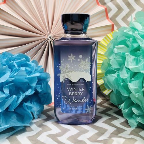 Bath&BodyWorks(バス&ボディワークス)-シャワージェル-ウィンターベリーワンダー-WINTER BERRY WONDER -クリスマス限定