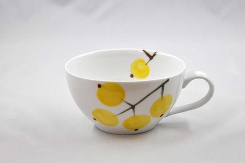 黄の実 スープカップ