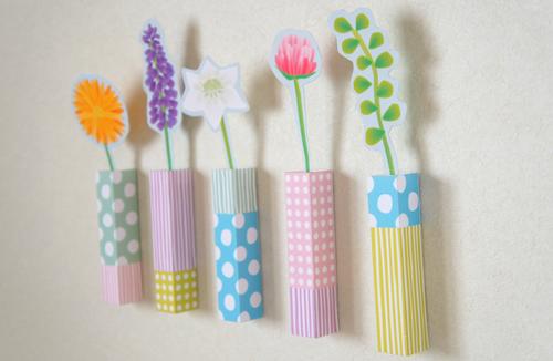 色いろ紙花*お部屋と心にいつもお花を*