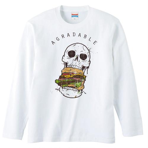 [ロングスリーブTシャツ] Crazy Burger