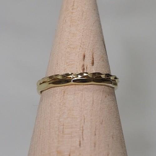 『全ネジ×12角さん』Brass(真鍮)製 オリジナルリングセット