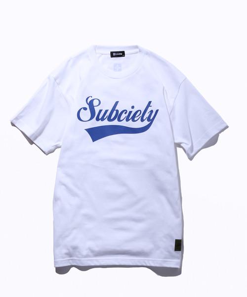 Subciety(サブサエティ) | GLORIOUS S/S (White / Navy)