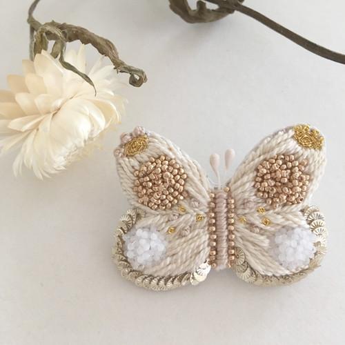 【受注生産】蝶々 gold brooch