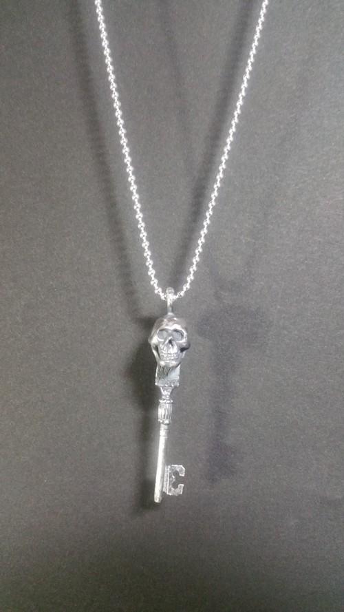 スカルキー silver925