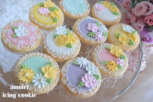 flower cookie