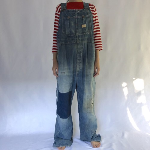 50's PAY DAY | grunge overalls (V4821A)