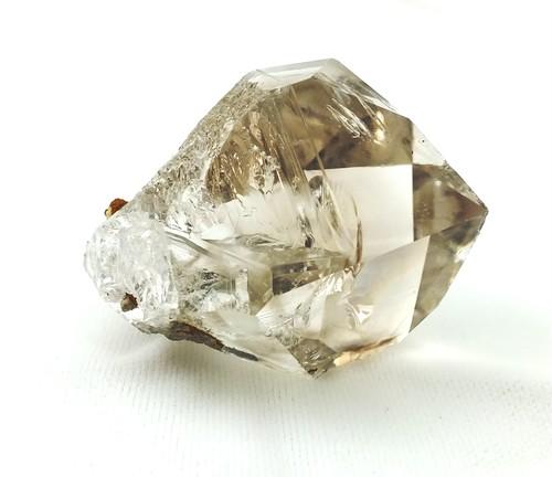 「ハーキマーダイヤモンド(プレシャスオーラ入り)」 AAAグレード(超高品質)結晶ポインタ 63g 大サイズ