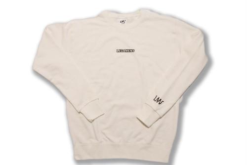 【small logo  sweat】/ white