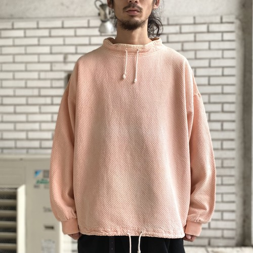 USED COTTON FADE PULLOVER