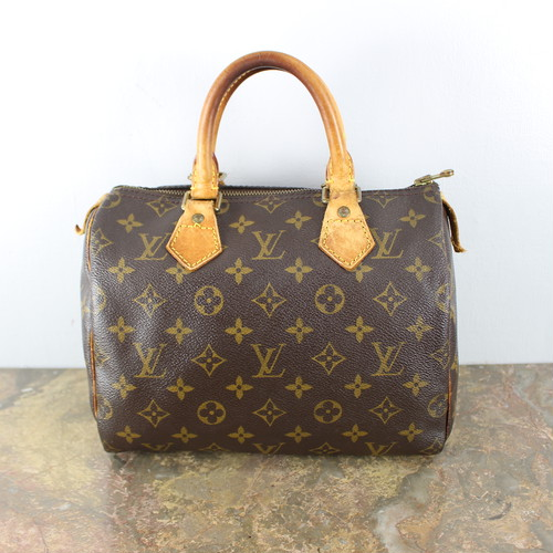 .LOUIS VUITTON SPEEDY25 M41528 SP0975 MONOGRAM PATTERNED BOSTON BAG MADE IN FRANCE/ルイヴィトンスピーディ25モノグラム柄ボストンバッグ 2000000044101