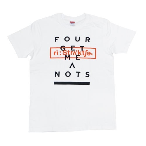 """""""Restructure"""" T-shirt White"""