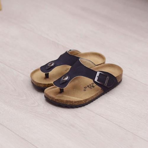 7811キッズ サンダル  子供靴 トングサンダル ジュニア シューズ 女の子 男の子 女児 ベビー 子ども 夏シューズ サマー 黒