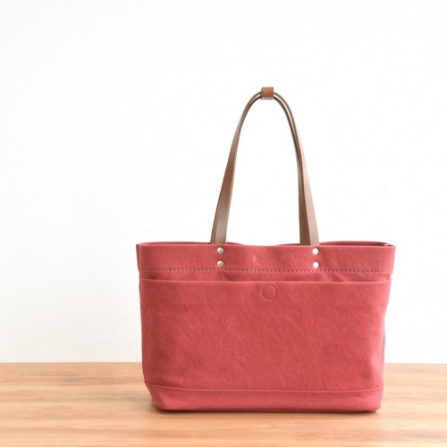 CANVAS MAGAZINE TOTE S / RED