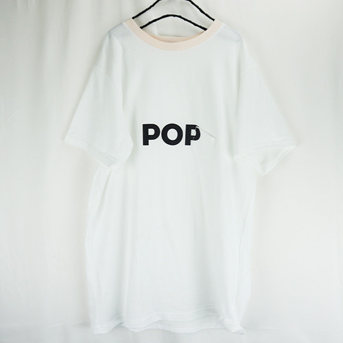 SLANT POCKET POP TEE / WOMEN