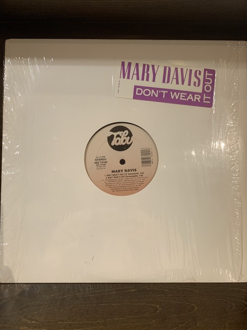 MARY DAVIS / DON'T WEAR IT OUT (4VER)