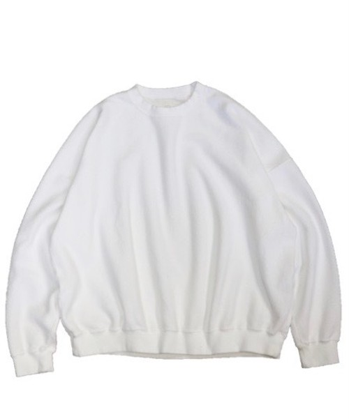 MADE IN STANDARD/REVERSE CREW SWEAT     MS18S00100