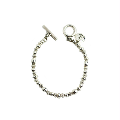 CONSIGLIERE/コンシリエーレ Silver beads bracelet-A