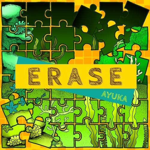 12月 24日発売 AYUKA 1st mini album「ERASE」iTunesランキングTOP3!記念麦わらのキミへアニメジャケットクリップバッチ付
