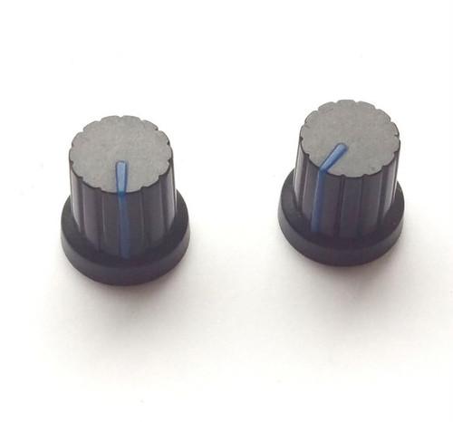 シンセ ツマミ型 マグネット 【黒×ブルー】 Synth Knob Magnet SKM  | シンセサイザッカー