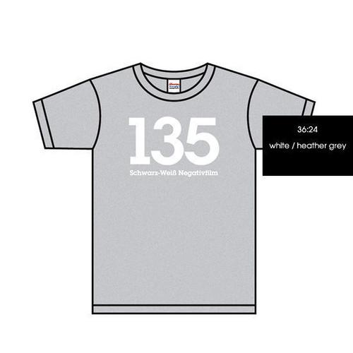 【在庫僅】135 Schwarz-Weiß Negativfilm, Tshirts [Heather grey]