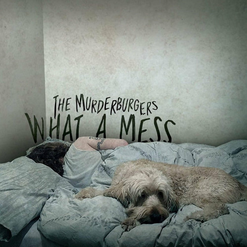 "the murderburgers / what a mess 12"" COLORED vinyl"