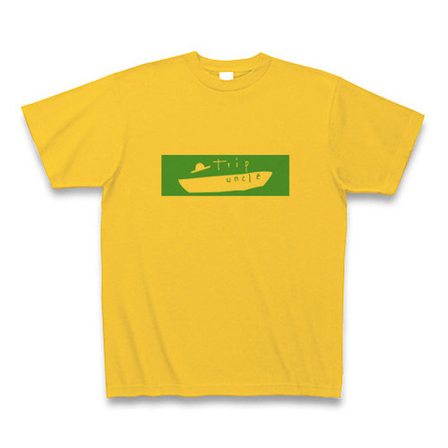 オリジナルTシャツ ゴールドイエロー センターロゴVer2 【送料込み】