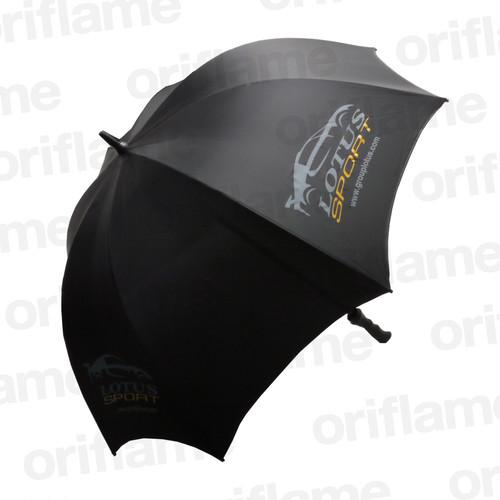 傘・ロータス・プラスチックグリップ・ブラック