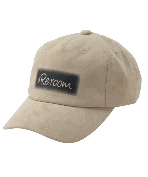 LOGO SPRAYING SUEDE CAP[REH114]