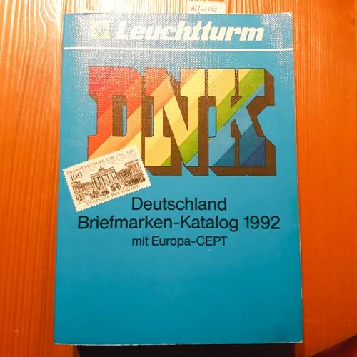 ▼ドイツの切手図鑑1992年版 DNK1992t1h