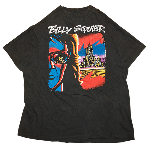 """""""Billy Squier / Creatures Tour 1991"""" Vintage Tee Used"""