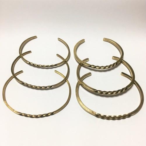 twilo bangle Brass M2/バングル/真鍮