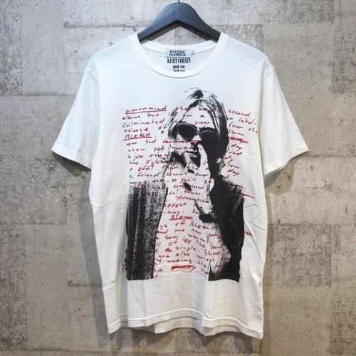 HYSTERIC GLAMOUR カートコバーンプリントTシャツ ※木村拓哉さん着用 同型同色