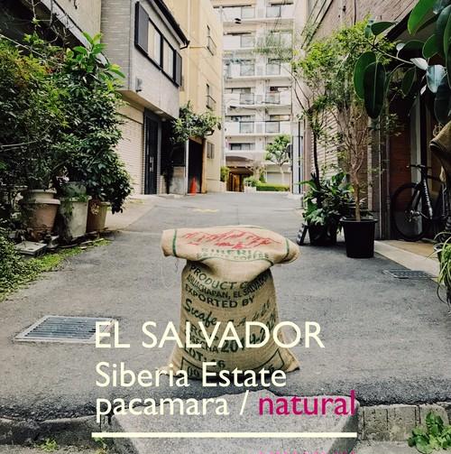 EL SALVADOR [natural]-中浅煎- 100g