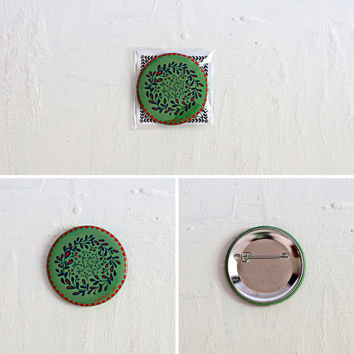 Pin Button - Green