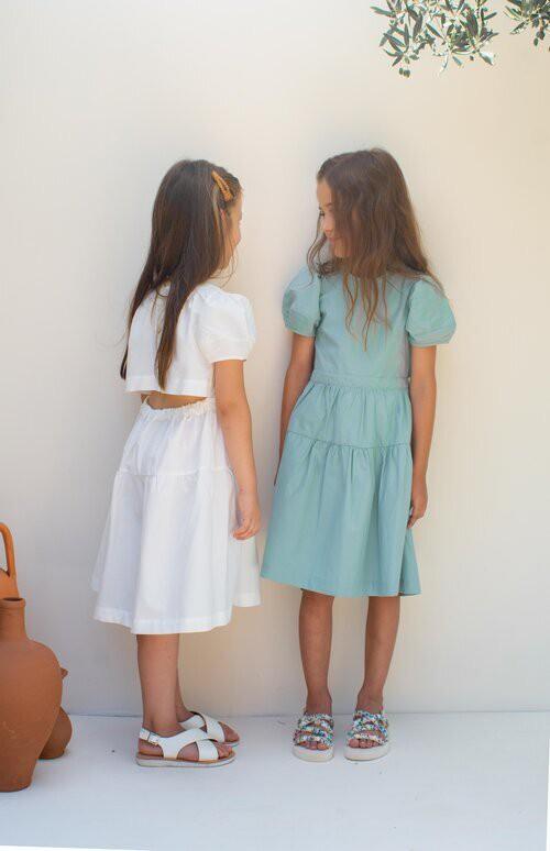 【KOKORI】Milos Dress White SS21024