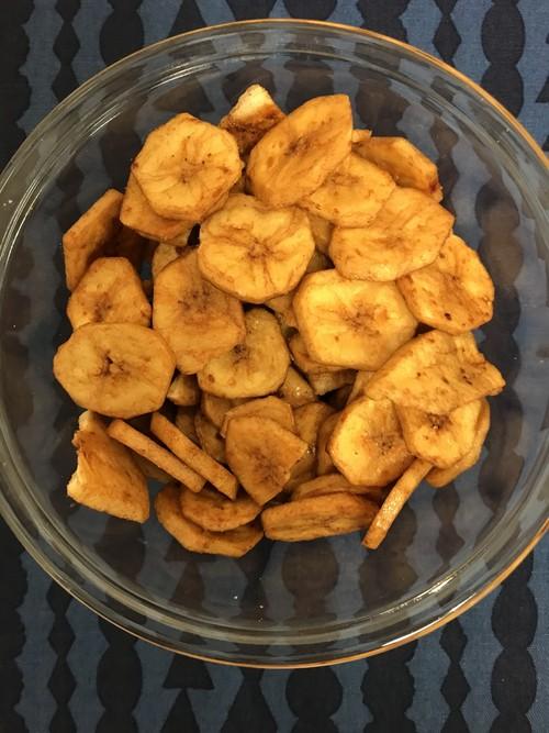 黒糖バナナチップス