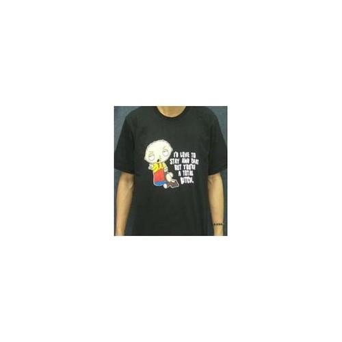 ステューウィー・グリフィン/Stewie Griffin ファミリー・ガイ プリントTシャツ