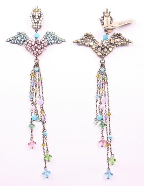 Love you to Death, meet you in Heaven earring stud イヤリング147