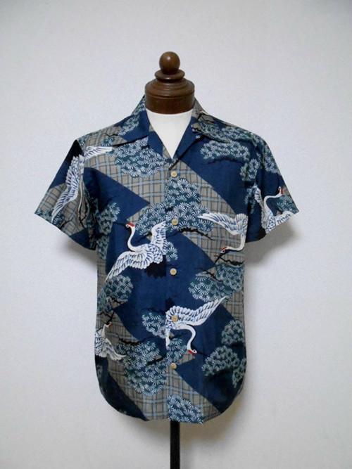 着物アロハシャツ Kimono Aloha Shirt  AL-613/M