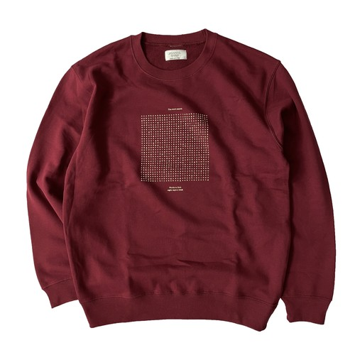EIGHT DAYS A WEEK / WORD SEARCH PUZZLE CREW NECK