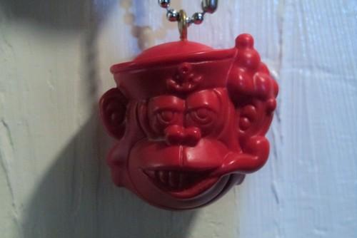 sailor monkey key chain