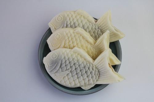 越後もちもち鯛焼き 小倉・チーズ・チョコレート味