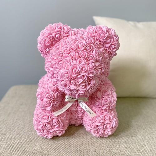 ローズベア ライトピンク お祝い 誕生日 周年