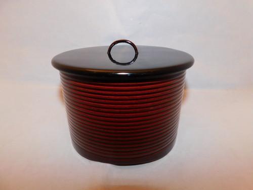 漆の水差し Urushi lacquer ware water box