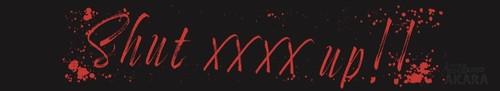 "【NEW】マフラータオル""Shut xxxx up!!"""