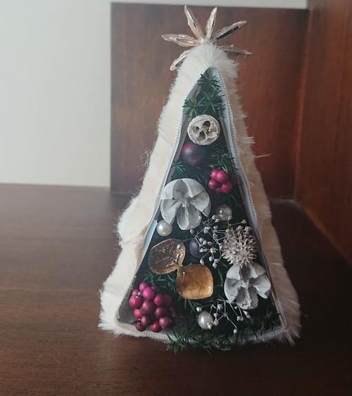 フワモコツリー*mini fur tree