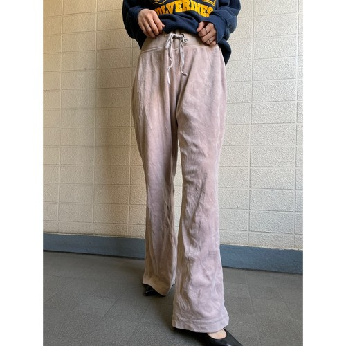 Relax velours pants