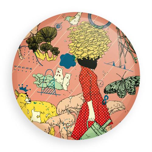 [缶バッジ] Mushroom Girl
